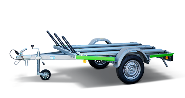 Anhänger Vermietung, Miet-Anhänger: Motorradanhänger, PKW-Anhänger Motorradanhänger, mit transparentem Hintergrund und Logo von miet-anhänger.at