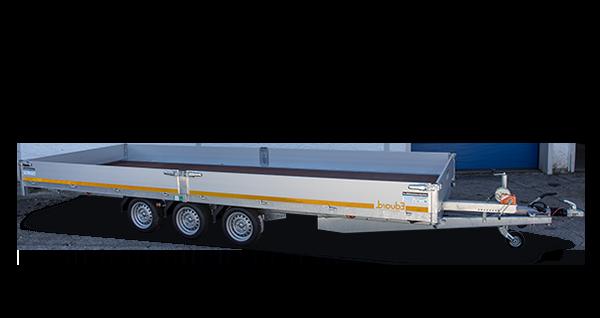 Anhänger Vermietung, Miet-Anhänger: Universaltransporter, PKW-Anhänger Universaltransporter, mit transparentem Hintergrund und Logo von miet-anhänger.at