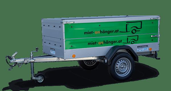 Anhängervermietung in Österreich, Partner von miet-anhänger.at werden, PKW-Anhänger mit Beklebung